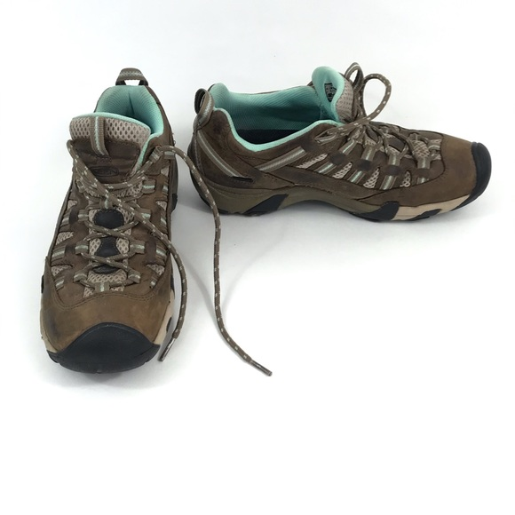 KEEN Alamosa Youth Size 6 Waterproof Leather Shoes Sneakers
